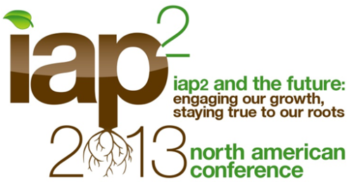 IAP2 2013 North America Conference logo