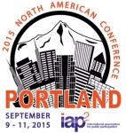 Portland Oregon Skyline Mt Hood Black and White Illustration