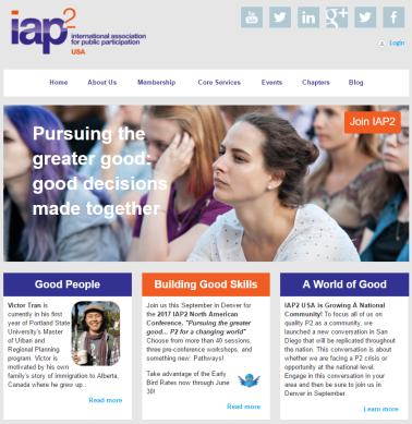 IAP2 USA Homepage